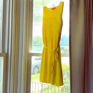 Bright yellow Catherine dress